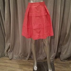 J. Crew  salmon pink skirt 0